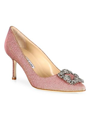 Manolo Blahnik hangisi 70 jeweled pump