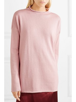 Mansur Gavriel alpaca and silk-blend sweater