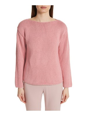 Mansur Gavriel cotton boatneck sweater
