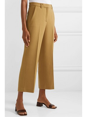 Mansur Gavriel cropped wool straight-leg pants