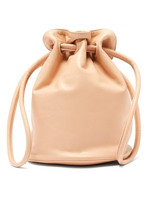 Mansur Gavriel drawstring pouch leather bag