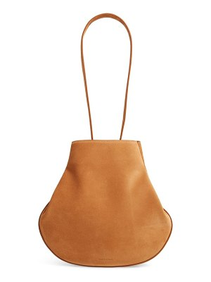 Mansur Gavriel folded suede hobo bag