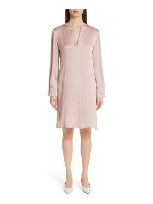 Mansur Gavriel hammered silk shift dress