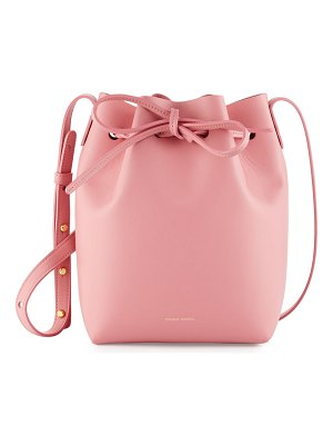 Mansur Gavriel Mini Calf Leather Bucket Bag