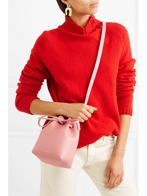 Mansur Gavriel mini mini leather bucket bag