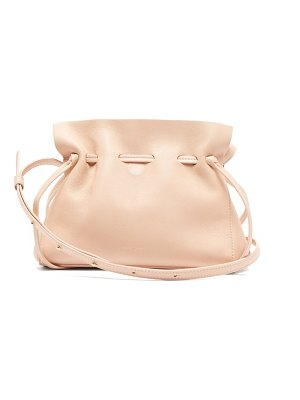 Mansur Gavriel mini protea leather bag