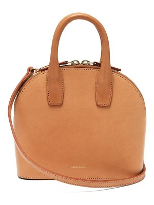Mansur Gavriel mini top handle leather bag
