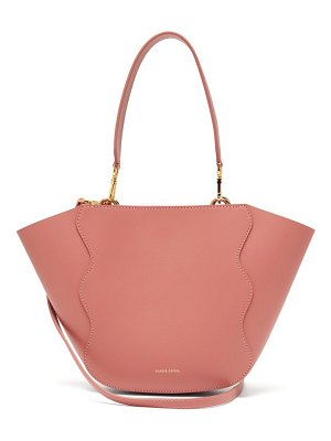 Mansur Gavriel ocean mini leather cross body bag
