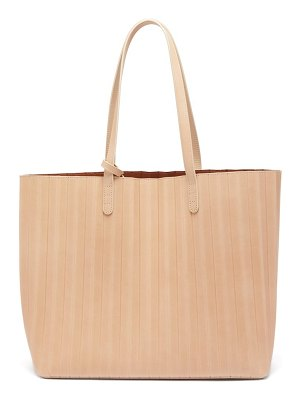 Mansur Gavriel pleated-leather tote bag