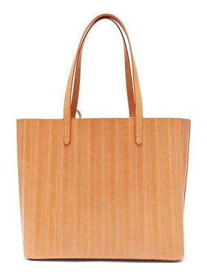 Mansur Gavriel pleated leather tote bag