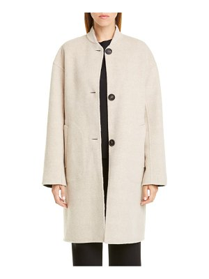 Mansur Gavriel reversible double face wool coat