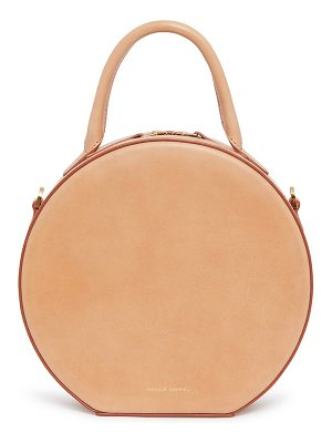 MANSUR GAVRIEL Vegetable Tanned Circle Crossbody