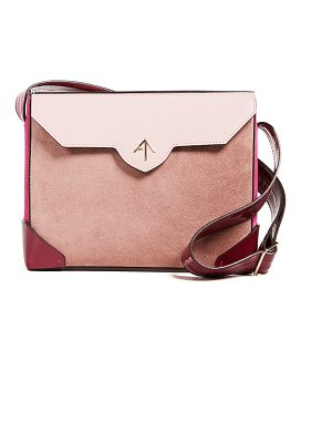 Manu Atelier bold combo shoulder bag