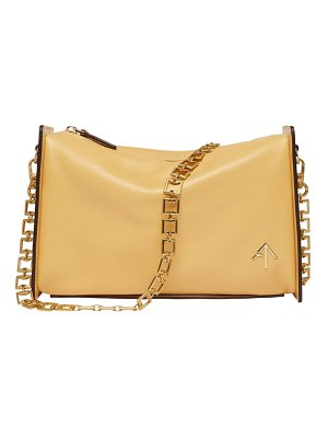 Manu Atelier Carmen Calfskin Square-Chain Shoulder Bag