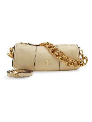 Manu Atelier Cylinder Mini Chunky Chain Crossbody Bag
