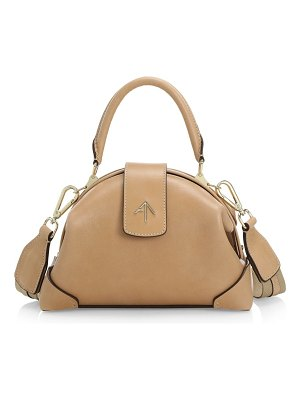 Manu Atelier demi leather top handle bag