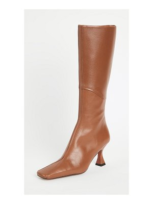 Manu Atelier knee high multipanel xx duck boots