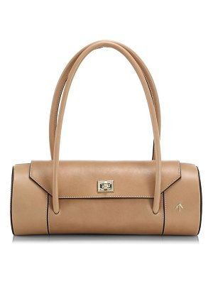 Manu Atelier london leather barrel bag