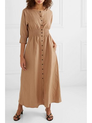 Mara Hoffman amia tencel and linen-blend maxi dress