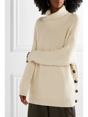Mara Hoffman evren oversized alpaca and organic cotton-blend turtleneck sweater