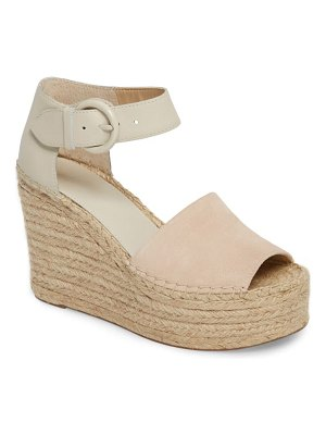 MARC FISHER LTD alida espadrille platform wedge