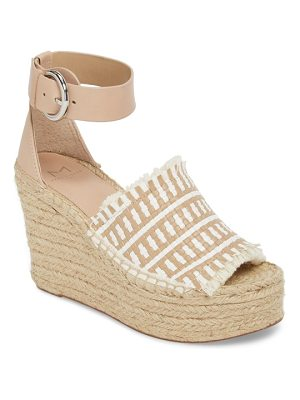 MARC FISHER LTD Andrew Espadrille Wedge Sandal