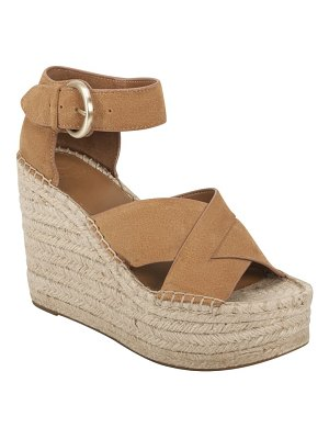 MARC FISHER LTD amari ankle strap espadrille wedge