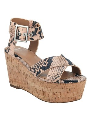 MARC FISHER LTD cacie platform sandal