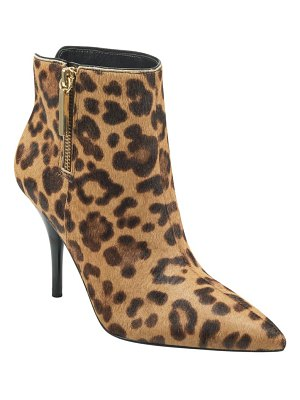MARC FISHER LTD fayely genuine calf hair bootie