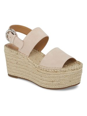 MARC FISHER LTD Renni Espadrille Platform Wedge Sandal