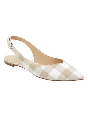 MARC FISHER LTD samera slingback flat