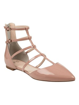 MARC FISHER LTD scoutly strappy pointy-toe flat
