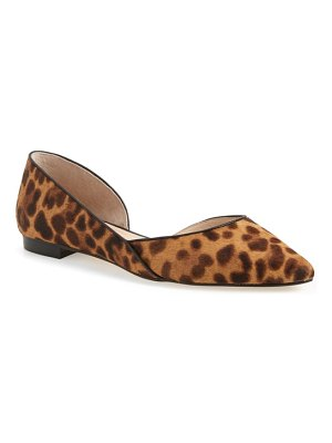MARC FISHER LTD sunny genuine calf hair flat
