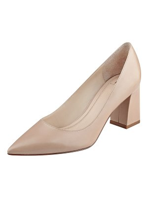 MARC FISHER LTD Zala Smooth Leather Point-Toe Pumps
