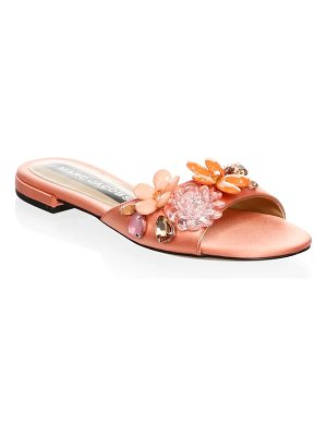 Marc Jacobs clara embellished silk slides