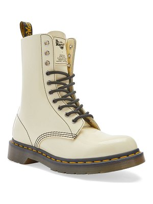 Marc Jacobs dr. martens x  patent leather boots