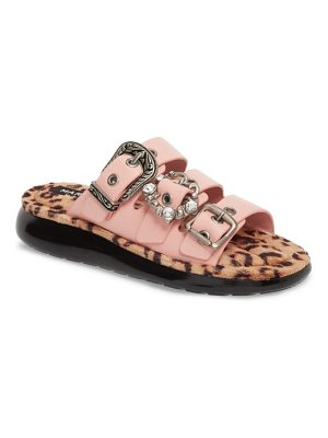 Marc Jacobs emerson faux fur sport sandal