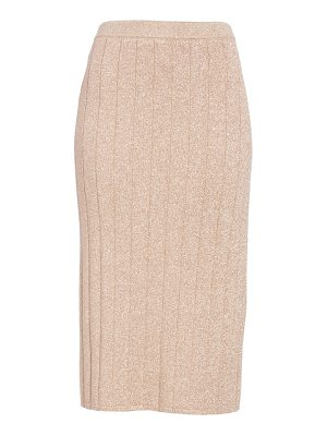Marc Jacobs metallic knit pencil skirt