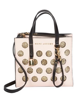 Marc Jacobs mini grind leather tote bag