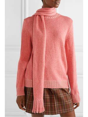 Marc Jacobs mohair, wool, silk, cashmere and alpaca-blend sweater