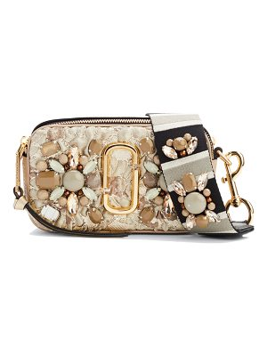 MARC JACOBS Snapshot Beaded Brocade Camera Crossbody Bag