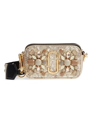 Marc Jacobs snapshot brocade crossbody bag
