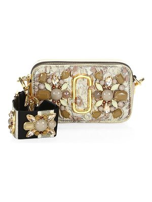 MARC JACOBS Snapshot Floral Brocade Shoulder Bag