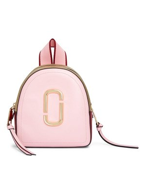 Marc Jacobs snapshot mini leather backpack