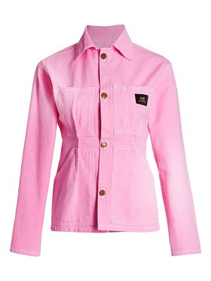 Marc Jacobs s.ray x tailored workwear cotton jacket