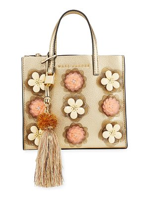 MARC JACOBS The Grind Flower Embellished Tote Bag