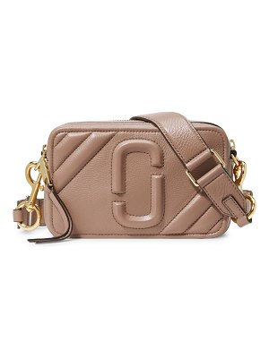 Marc Jacobs the moto shot 21 leather camera bag