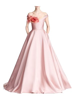 MARCHESA Duchess Satin Ballgown