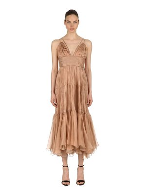 Maria Lucia Hohan Georgette midi dress
