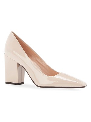 Marion Parke Whitney Patent Square-Toe Pumps